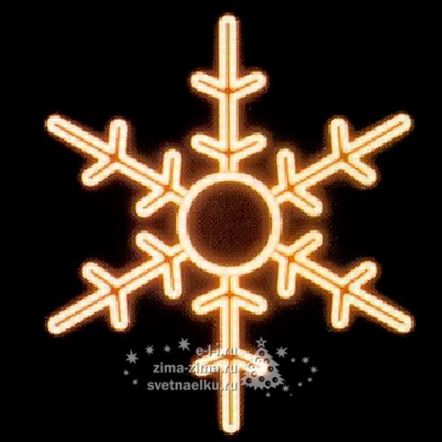 Светящаяся снежинка своими руками