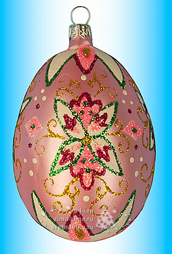 Елочные игрушки из яйца