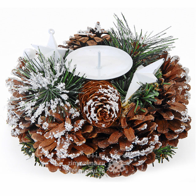 Как вставить деревянное Новогодняя свечка своими руками