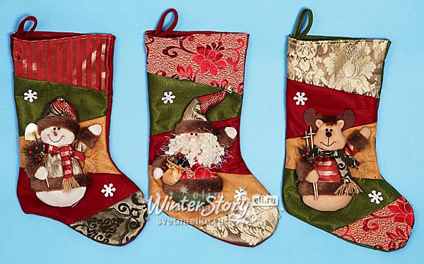 Как сделать рождественские носки своими руками