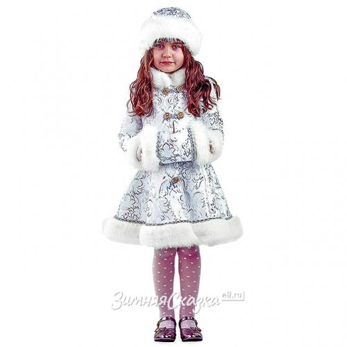 Детский карнавальный костюм Снегурочка Хрустальная 9ff97e06c0c81