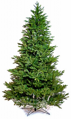 Искусственная елка ХиллКрест 152 cм, ЛИТАЯ + ПВХ National Tree Company